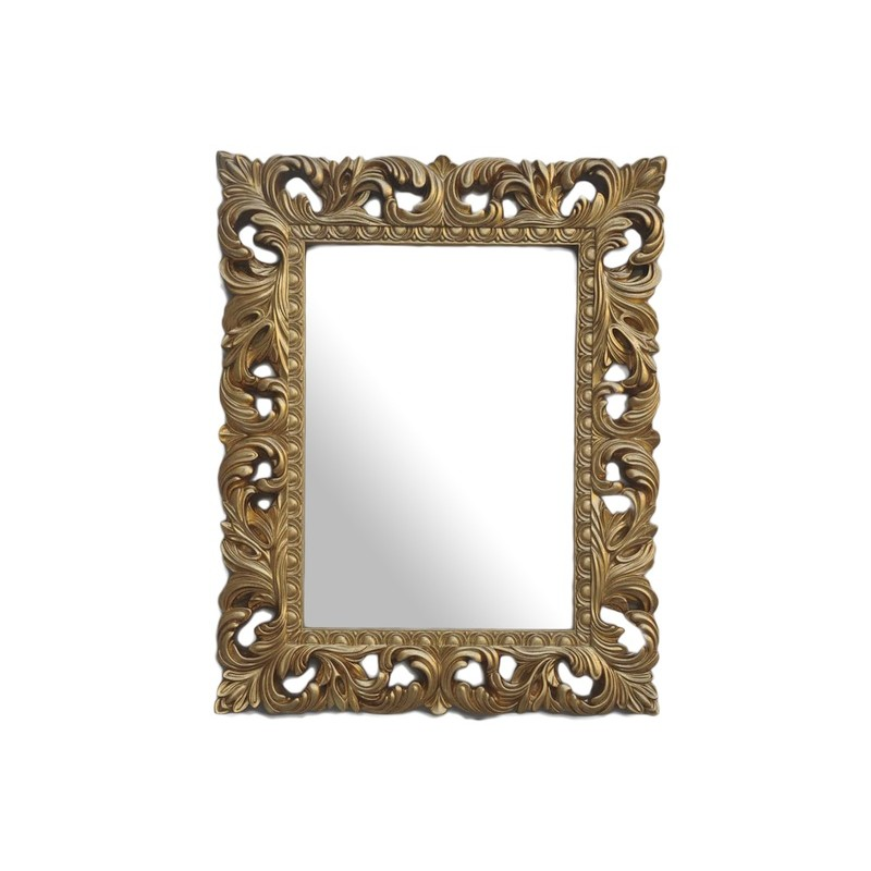 Mirror palazzo 100x80 color gold gold for Miroir 100 x 80