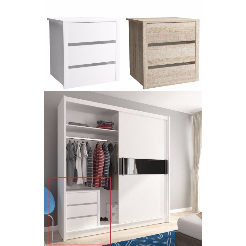 Wardrobe Storage Instert Container Chest Of Drawers