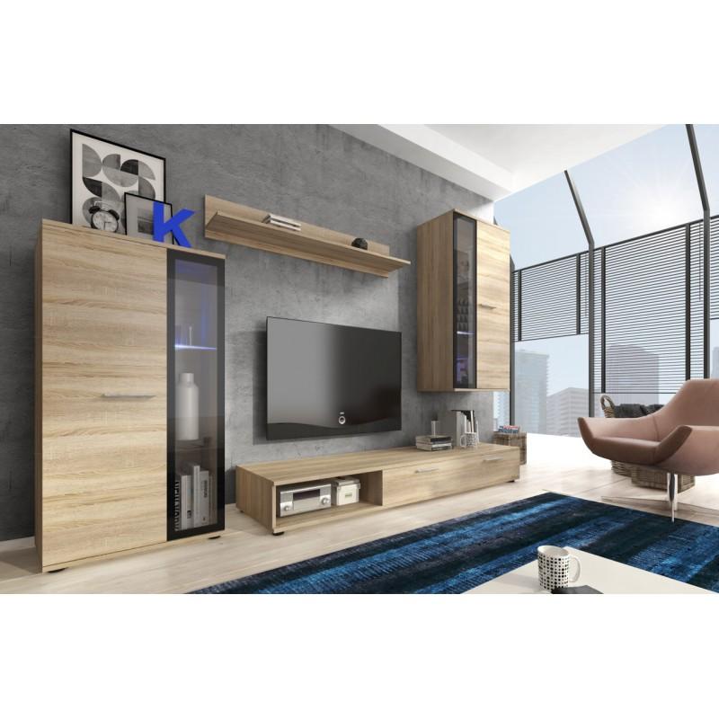 Bmf Pino Living Room Set Wall Shelf Tv Stand Floating Display