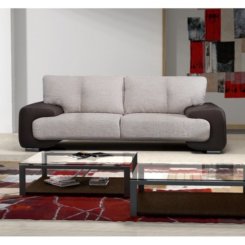 Modern Comfortable Sofa: BMF MARGO 2-SEATER SOFA MODERN COMFORTABLE FABRIC 190cm X