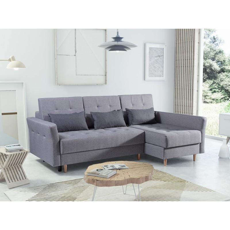 Awe Inspiring Bmf Sven Corner Sofa Modern 2 Bed Storage Wood Legs Fabric 149Cmx238Cm Right Complete Home Design Collection Barbaintelli Responsecom