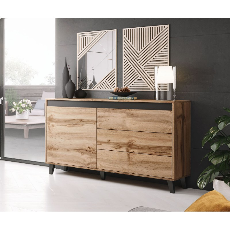 Bmf Nord Sideboard Chest Of Drawers, Living Room Chest