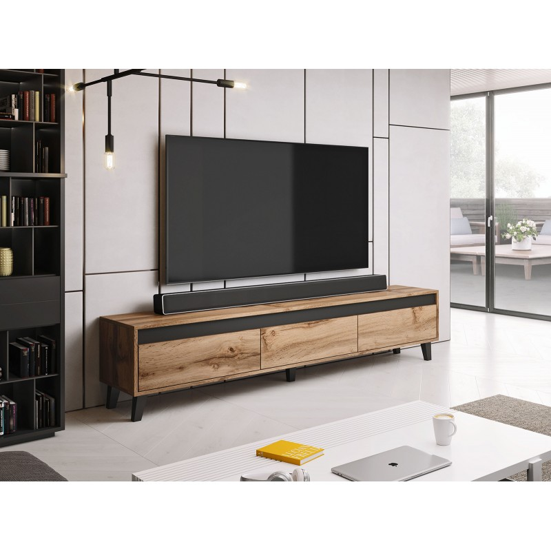 Bmf Nord Tv Stand Modern Living Room 185 Cm Wide
