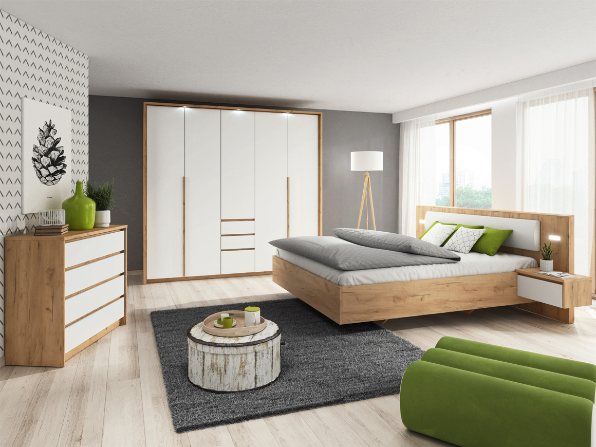 Details about XELO - BEDROOM FURNITURE SET CHEST OF DRAWERS WARDROBE BED  MATTRESS 11 x 11