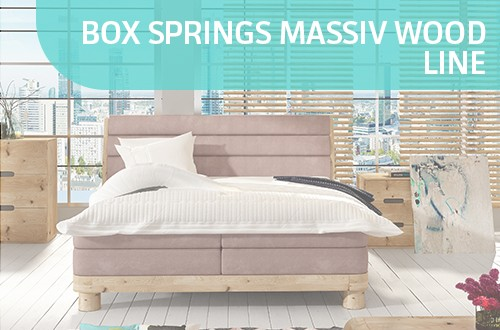 Box Springs Massiv Wood