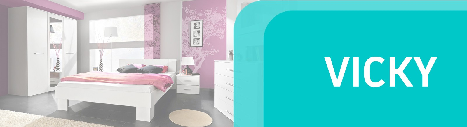 Vicky bedroom furniture